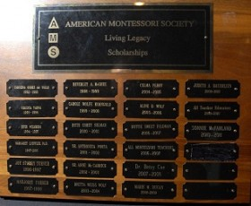 Sonnie McFarland Honored by American Montessori Society